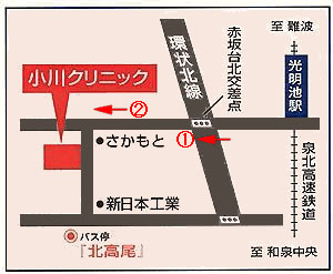 アクセス方法 地図